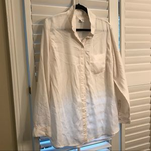 NWT L/S Button Down Shirt TENCEL Material size XL